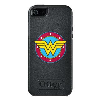 Círculo de la Mujer Maravilla y logotipo de las Funda Otterbox Para iPhone 5/5s/SE