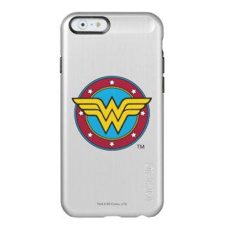 Círculo de la Mujer Maravilla y logotipo de las Funda Para iPhone 6 Plus Incipio Feather Shine