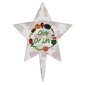 Círculo de la vida decoración de tarta