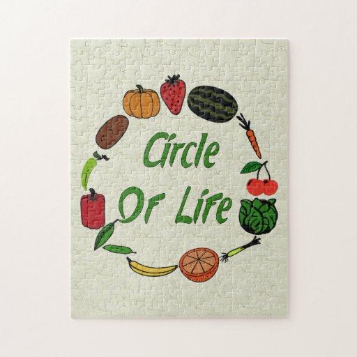 Círculo de la vida puzzles con fotos