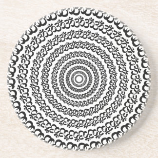 círculo de la yoga posavasos personalizados