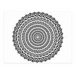 círculo de la yoga postales