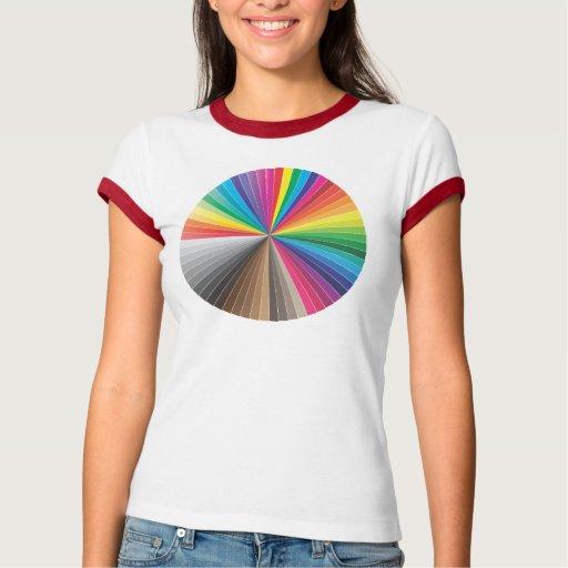 círculo de las muestras del color playera