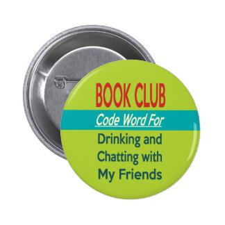 Círculo de lectores - cifre la palabra pin redondo 5 cm