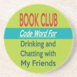 Círculo de lectores - cifre la palabra posavasos personalizados