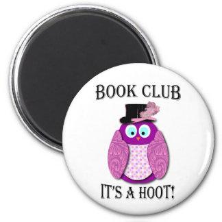 Círculo de lectores - es un pitido - diseño rosado imán de nevera