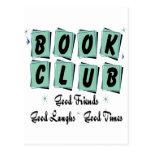 Círculo de lectores retro - buenos amigos, épocas  tarjetas postales