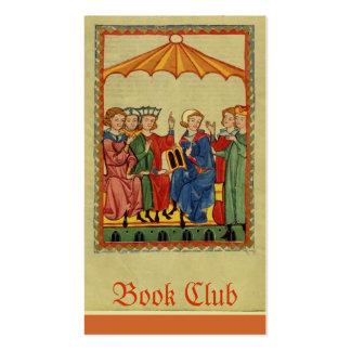 Círculo de lectores tarjetas de visita
