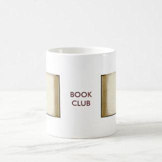 Círculo de lectores taza de café