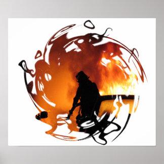 Círculo de llamas posters