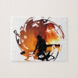 Círculo de llamas puzzles