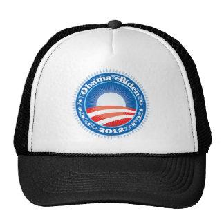 Círculo de Obama Biden 2012 Gorros