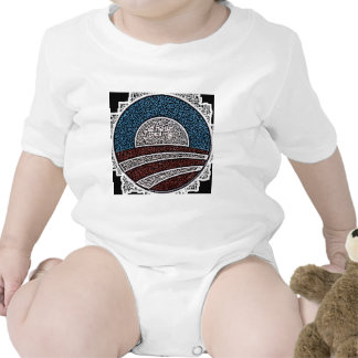 Círculo de Obama Trajes De Bebé