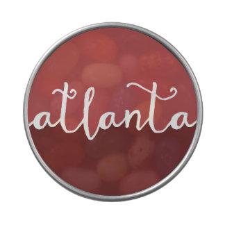 Círculo de Ombre del moho de Atlanta, Georgia el | Latas De Caramelos