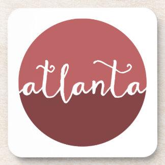 Círculo de Ombre del moho de Atlanta, Georgia el | Posavasos De Bebida