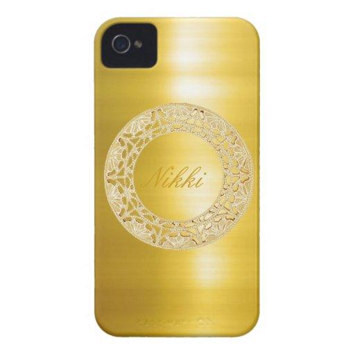 Círculo de oro iPhone 4 cárcasa