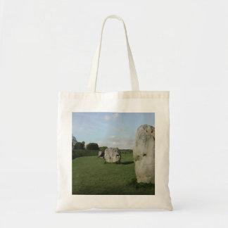 Círculo de piedra antiguo. Avebury, Wiltshire, Ing Bolsa Lienzo