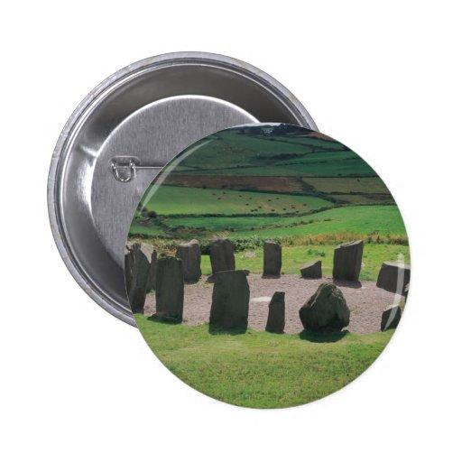 Círculo de piedra de Drombeg Pins