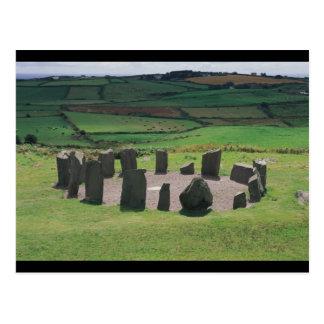 Círculo de piedra de Drombeg Tarjeta Postal