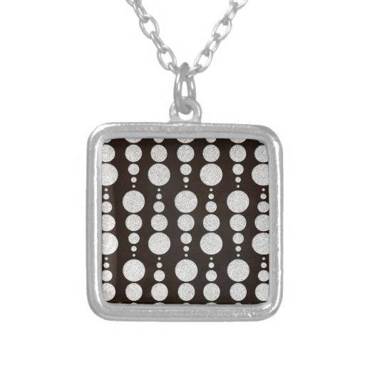 Círculo de plata joyería