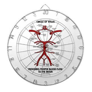 Círculo de Willis que proporciona el cerebro