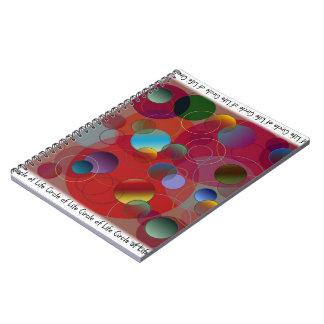 Círculo del cuaderno de la vida