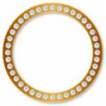 Círculo del diamante esculturas fotograficas