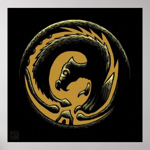 Círculo del dragón posters