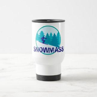 Círculo del esquí de Snowmass Taza Térmica