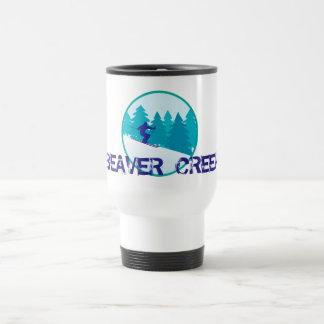 Círculo del esquí del Beaver Creek Taza De Viaje