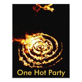 Círculo del fuego anuncio personalizado