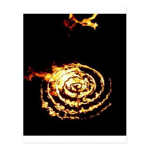 Círculo del fuego tarjeta postal