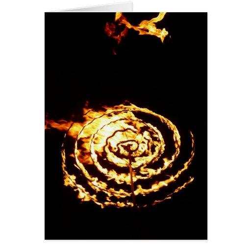 Círculo del fuego tarjetón
