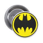 Círculo del logotipo del palo de Batman Pin