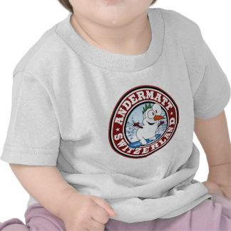 Círculo del muñeco de nieve de Andermatt Camisetas