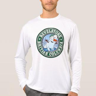 Círculo del muñeco de nieve de Revelstoke Camisetas