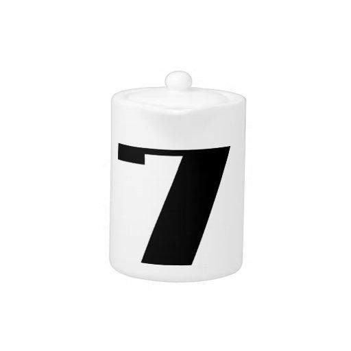 Círculo del número siete