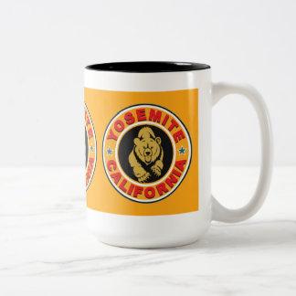 Círculo del oro de Yosemite Tazas De Café