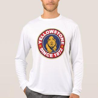 Círculo del rojo de Yellowstone Camisas