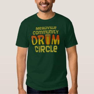 Círculo del tambor de Meadville Poleras