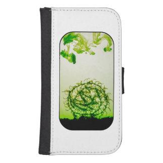Círculo del Waterweed Cartera Para Galaxy S4