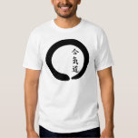 Círculo del zen del Aikido Playeras