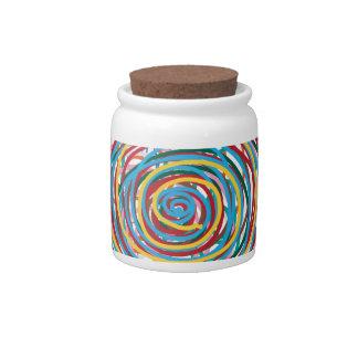 círculo digital 160602 del diseño jarras para caramelos