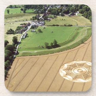 Círculo Dreamcatcher Avebury 1994 de la cosecha Posavaso