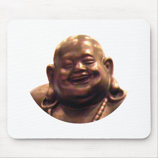 Círculo feliz de Buda Shangai 2002 el MUSEO Zazz Mousepads