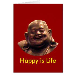 Círculo feliz de Buda Shangai 2002 el MUSEO Zazz Tarjeta De Felicitación