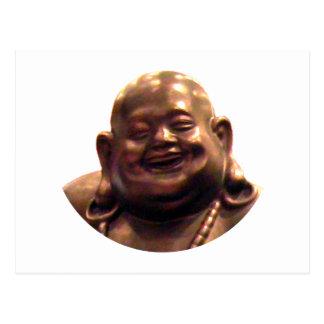 Círculo feliz de Buda Shangai 2002 el MUSEO Zazz Tarjeta Postal
