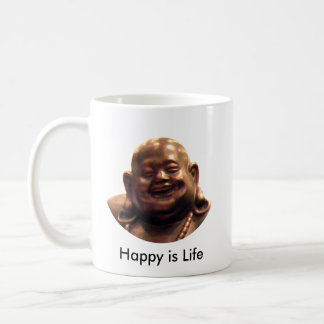 Círculo feliz de Buda Shangai 2002 el MUSEO Zazz Taza