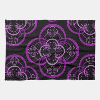Círculo geométrico toalla de cocina
