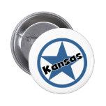 Círculo Kansas Pins